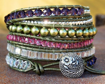You Go Girl - Wrap Bracelet