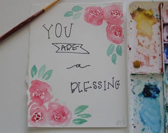You are a Blessing- Notecards