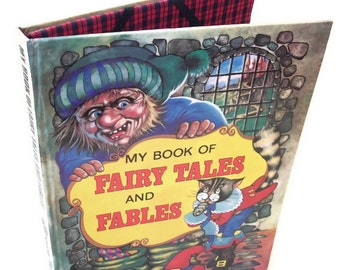 Vintage Book of Fairy Tales and Fables Cover for IPad or Kindle DX Case, Gadget Device case for Tablet, Tablet Device Accessories