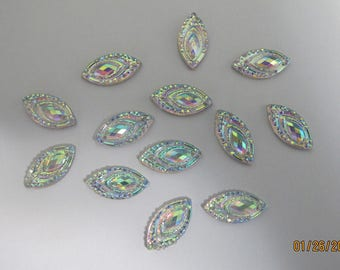 Marquise like beads (50)
