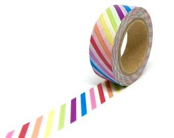 Arcobaleno banda Washi Tape