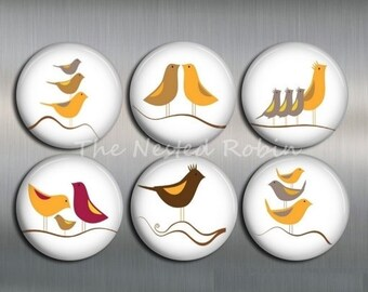 BIRD MAGNETS, 1 inch or 1.25 inches