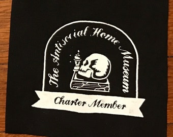 Antisocial Home Museum Member Cloth Patch