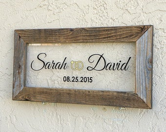 Custom Wedding Sign. Wedding Signs. Personalized Wedding Sign. Rustic Wedding Decor. Custom Rustic Signs. Mr and Mrs Sign. 20x10