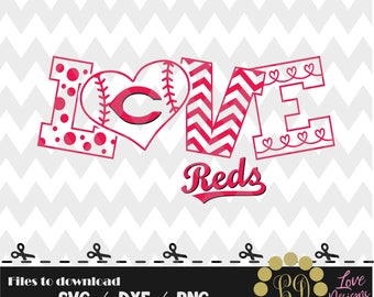 Cincinnati Reds baseball svg,png,dxf,cricut,silhouette,jersey,shirt,proud,birthday,invitation,sports,cut,girl,love,softball,2018 new,decal