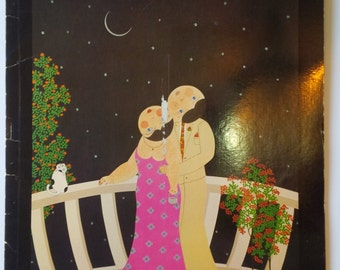 """Vintage 1983 John Lim Artist : Paintings For Lovers Book 14 Prints SIGNED Print Size 16"""" x 11.5"""""""