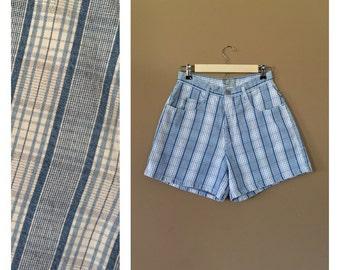 Waist 30 High Waisted Denim Shorts/90s Jean Shorts/90s Shorts /Levis High Waisted Denim Shorts/Levis Cutoffs /Denim Cutoffs/Jean Shorts