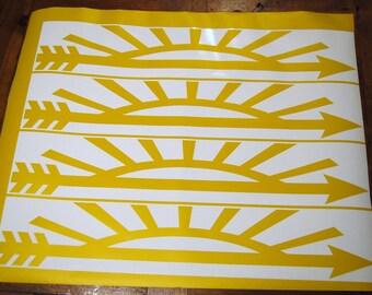 DIY***27 inch Arrow of Light Decals