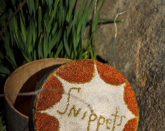 New Punch Needle Pattern - SNIPPETS - from Notforgotten Farm