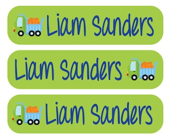 48 Dishwasher safe and Waterproof Kid's Labels - Great for daycare, school, baby bottles, sippy cups and more