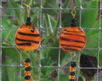 Tiger Tail Earrings