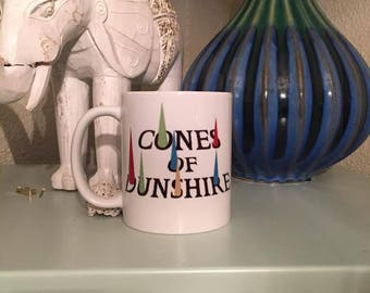 Parks and Recreation Cones of Dunshire Coffee Mug