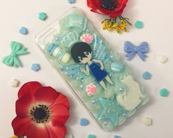 iPhone 7/7s - Haru Free! Decoden Case