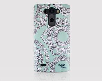 LG G3 Case - Lace on the Mint (P00006)