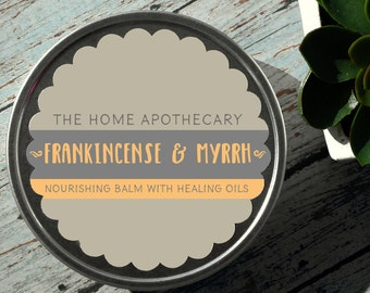Frankincense & Myrrh Healing Balm