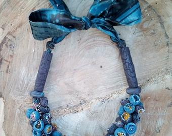 Necklace Autumn Flowers