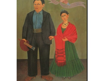Frida and Diego 1931 refrigerator Magnet