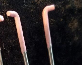 CRAZY Felting Needles 40 gauge crown point felt needle 2 pack color coded
