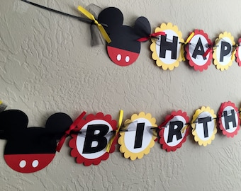 Mickey Mouse Party Decorations Mickey Mouse Birthday Mickey
