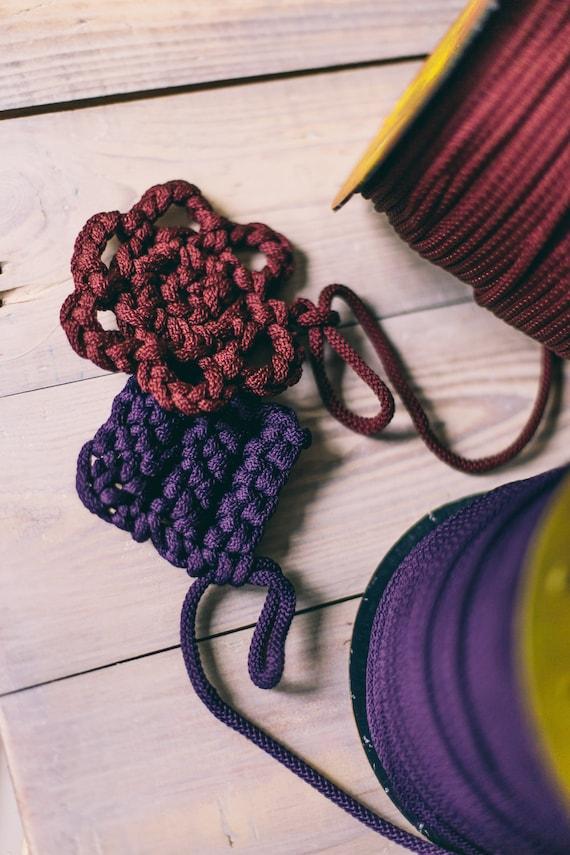 Macrame cord/ macrame yarn/ crochet rope/ crochet supplies/ macrame cord/ knitting supplies/ knitting yarn/ diy crafts/ rope cord #24 #28