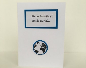 Fathers day card - Best Dad in the world