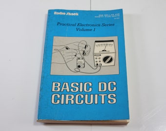 Vintage 1979 Radio Shack Practical Electronics Serias Volume 1 Basic DC Circuits Book