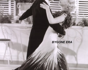 Ginger Rogers and Fred Astaire Dancing Hollywood Movie Stars Poster Art Photo Artwork 11x14  16x20 or 20x24