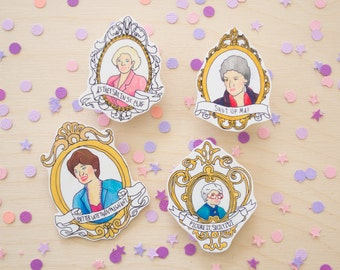 Golden Girls pin