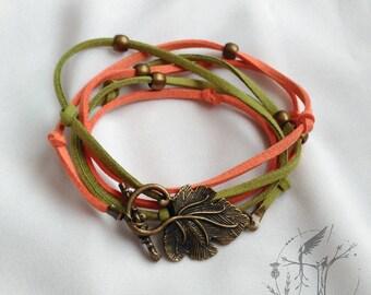 Double bracelet or summer necklace. Exclusive design