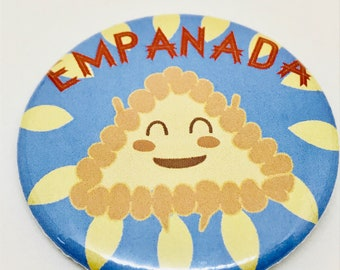 Pan Dulce Pals: Empanada Button