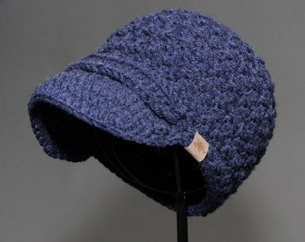 Crochet PATTERN Montgomery Newsboy Cap Crochet Hat Pattern Includes Sizes Newborn to Adult