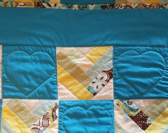 Heart Strings Baby Quilt