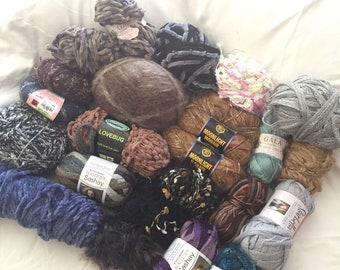 Yarn destash Lot