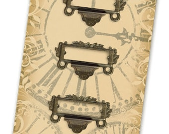 Graphic 45 Ornate Metal Label Holder