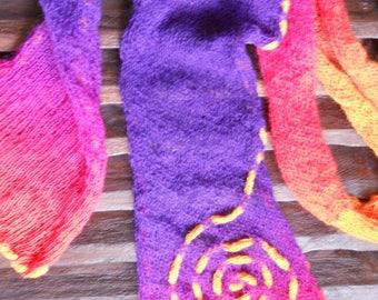 Scarf knitting pattern knitting MOM