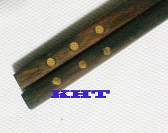 Thai Rosewood Chopsticks, Classic Handmade directly fr. Manufacturer #09