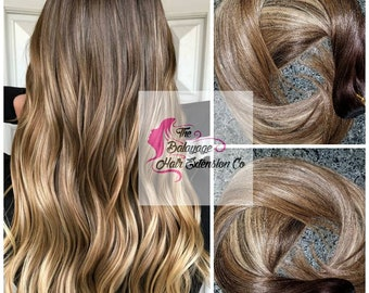 Balayage Remy, Clip-In Extensions, 240 Grams, 26 inches