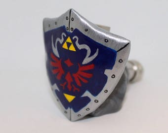 Hylian Shield Pipe Zelda Pipe Link Breath of the Wild Ocarina of Time Pipe Sculpture