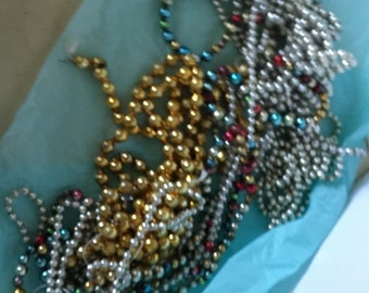 5 Strands of Glass Beads