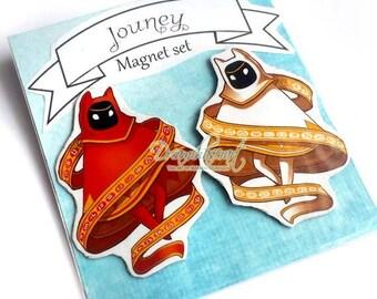 Journey Magnet Set of 2