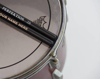 Valentine's Day Gift - One Pair of Personalized Monogrammed Custom Drumsticks Drum Sticks