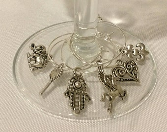 Wine Charms - Symbols of Luck