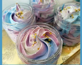 Unicorn Bath Frosting, Foaming Bath Whip,  Whipped Cream Soap, Magical Soap, Let's Be Unicorns, Rainbow Soap