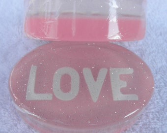 LOVE  Glycerin Soap