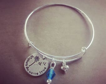 Wishes do come true: Make-A-Wish, Walk For Wishes Bangle Fundraiser
