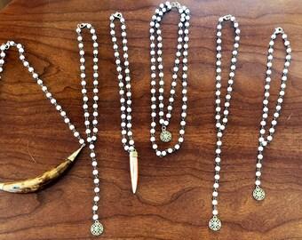 Bohemian chain necklaces