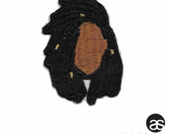 Natural Hair Iron-on Patch-LOCS