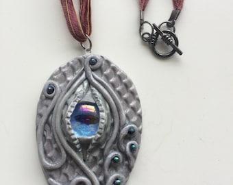 Dragon Eye Amulet Pendant Necklace