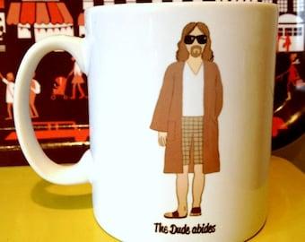 The Big Lebowski 'The Dude' drawing illustration mug