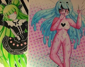 Drema's girls Art Prints